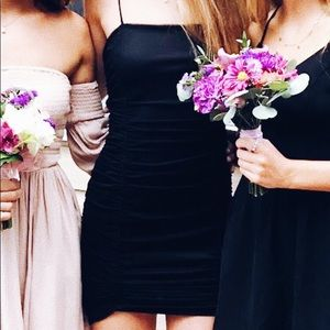 Urban Outfitters Body-con Black Dress